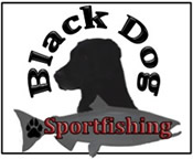 Black Dog Sportfishing Logo
